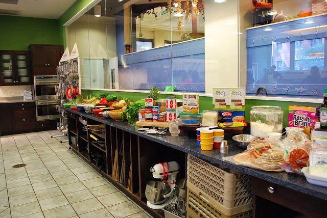 Kitchen at The Chopping Block