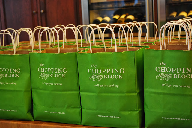 goodie bags from The Chopping Block