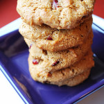 Cashew almond fruit and nut cookies use two different kinds of nut butter, are grain-free and really delicious. They are great frozen, too!