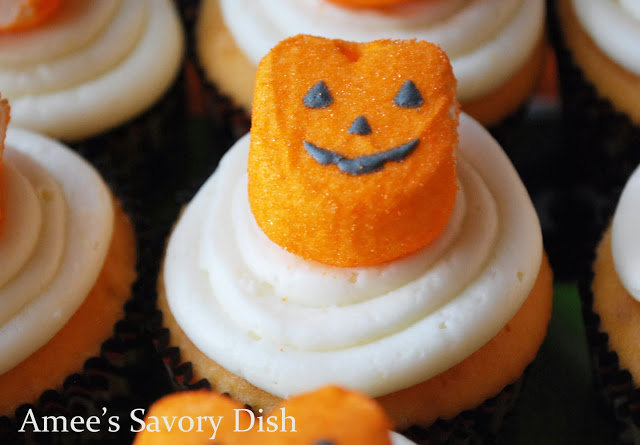 Orange cupcakes are as delicious as they are cute! These homemade cupcakes are easy to make and the bright orange color of them makes them a great Halloween dessert!