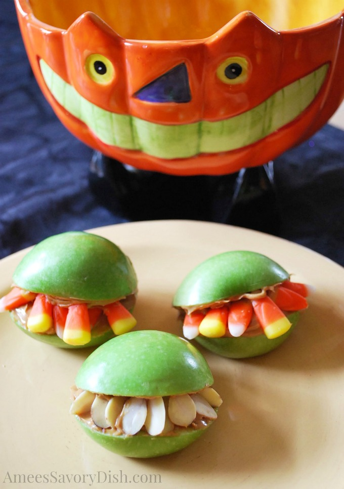 Monster Mouths for fun Halloween food ideas