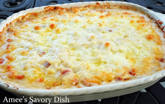 Cheesy Ham & Hashbrown Casserole