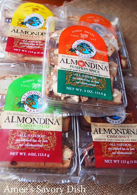 Almondina Cookies, in several flavor varieties