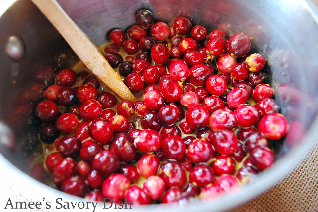 whole fresh cranberries for homemade cranberry sauce