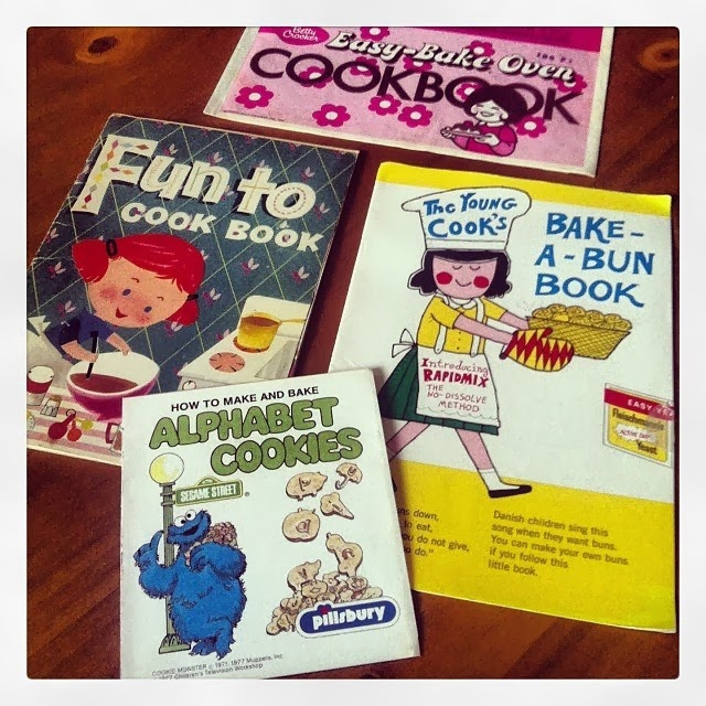 Children's cookbooks with Homeamde Easy Bake Oven recipes