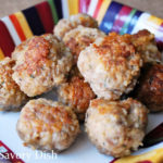 The best gluten-free meatballs I've ever eaten are made with a mixture of grass-fed beef, ground pork, and mild Italian sausage. This gluten-free meatballs recipe is so delicious!