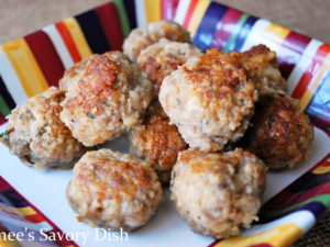 The best gluten-free meatballsI've ever eaten are made with a mixture of grass-fed beef, ground pork, and mild Italian sausage. This gluten-free meatballs recipe is so delicious!
