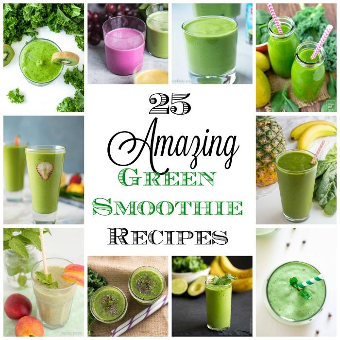 Favorite Green Smoothie recipes