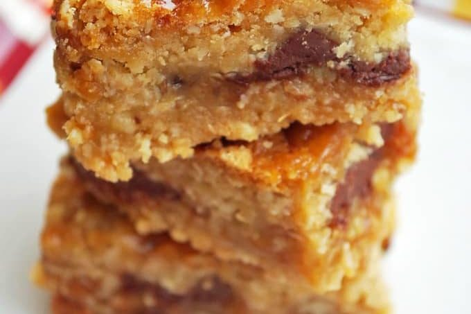 Gluten-Free Oatmeal Carmelitas