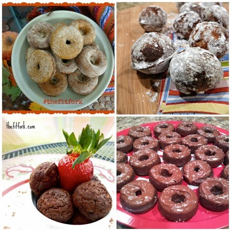 Baked Protein Donuts