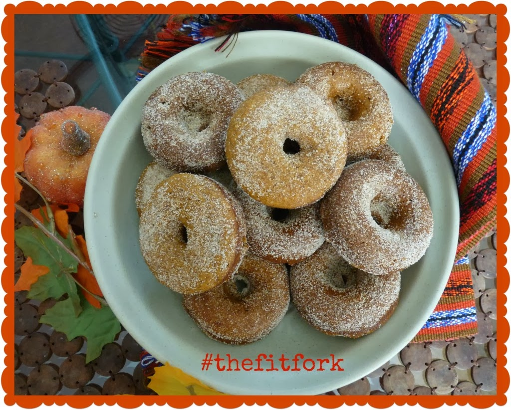 Pumpkin Baked Protein Donuts
