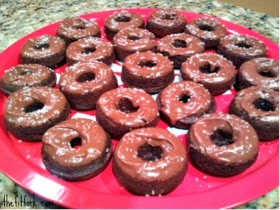 Chocolate Baked Protein Donuts