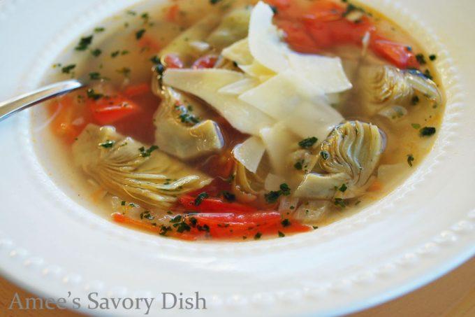 Artichoke Soup (Zuppa Di Carciofi)