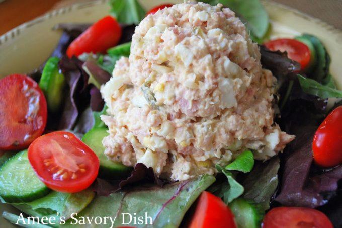 Paleo Ham Salad