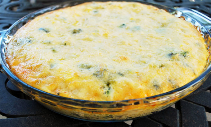 A delicious low carb crustless quiche recipe perfect for a keto-friendly diet
