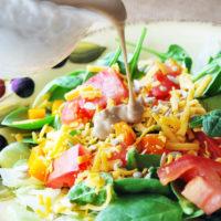Creamy Balsamic Paleo Salad Dressing
