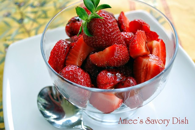 Strawberry recipes are here, because it's the season for fresh strawberries! Here are some easy recipes using sweet, in-season strawberries.