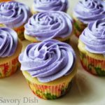 Lavender earl grey tea is the shining star of this easy homemade cupcakes recipe!