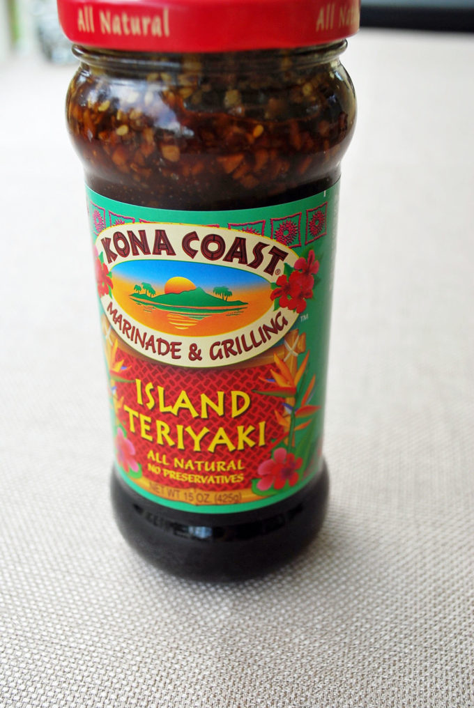 Kona Coast Island Teriyaki Sauce for Hawaiian Ham Sliders