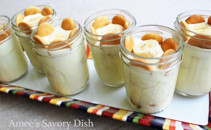 no-bake banana pudding parfaits - Banana pudding is delicious on its own, but adding Nilla wafers and sliced bananas for banana pudding parfaits makes one of the best no-bake dessert recipes around!