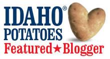 Idaho potatoes badge