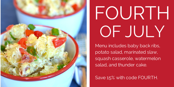 Celebrate the 4th of July with eMeals