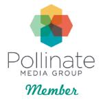 Pollinate media badge