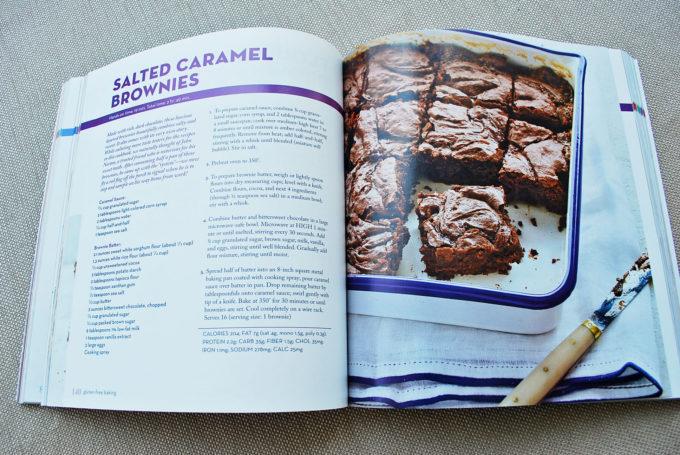 gluten-free salted caramel brownies recipe