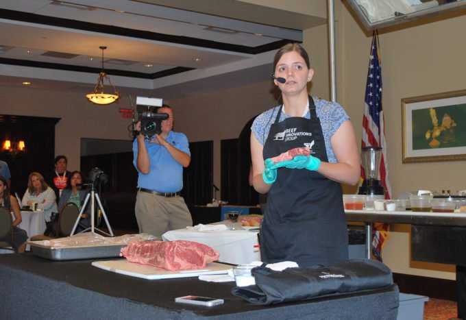 beef cutting demo
