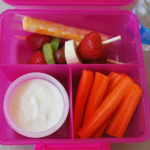 vegetarian kids lunch idea