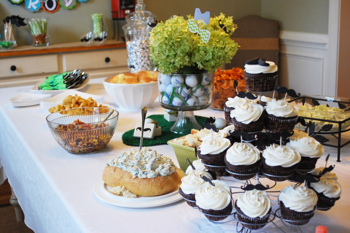 A Southern Gentleman Baby Shower