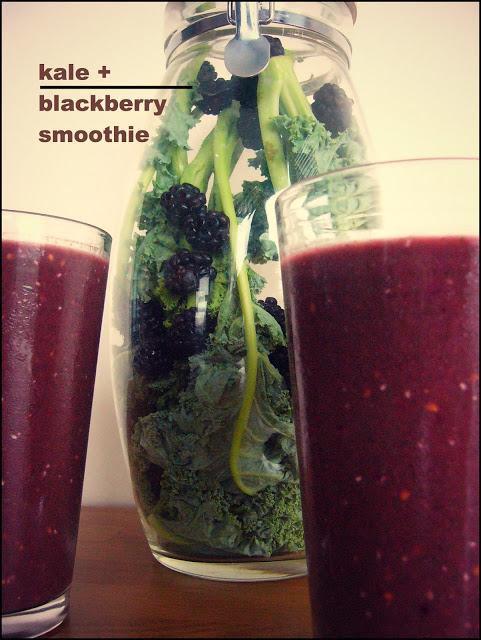 kaleblackberrysmoothies