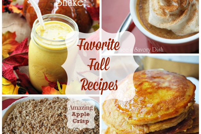Favorite Fall Recipes