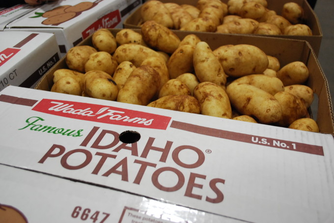 box potatoes