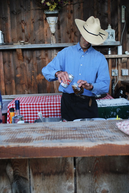 cowboy bartender