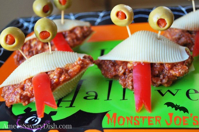 "Monster Sloppy Joes – a ""Not-So-Scary"" Halloween Favorite"