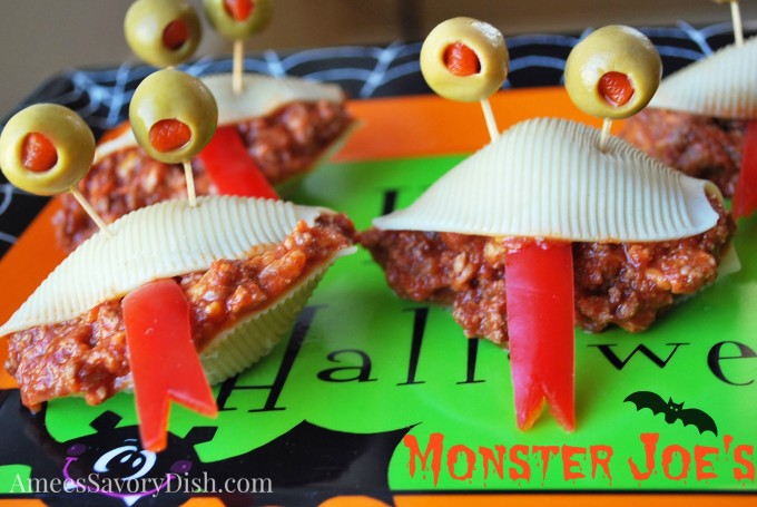 Monster Sloppy Joes - a not-so-scary twist on traditional sloppy Joes.