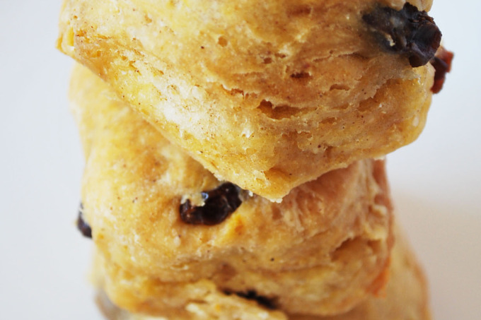 Pumpkin Raisin Biscuits