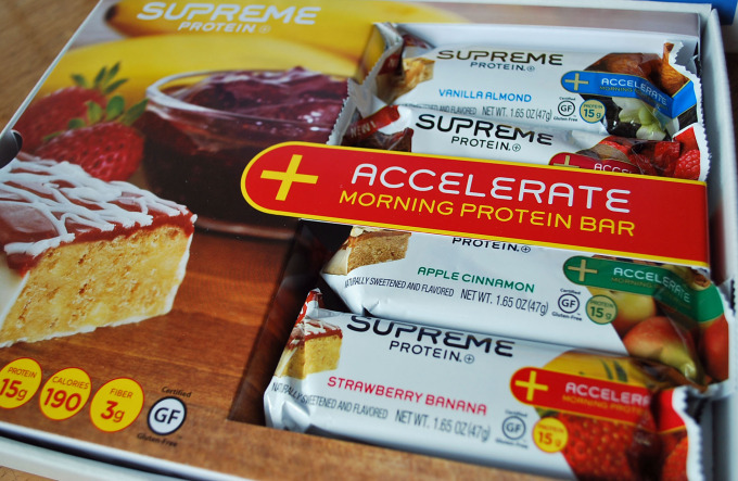 Accelerate Supreme Protein Bars