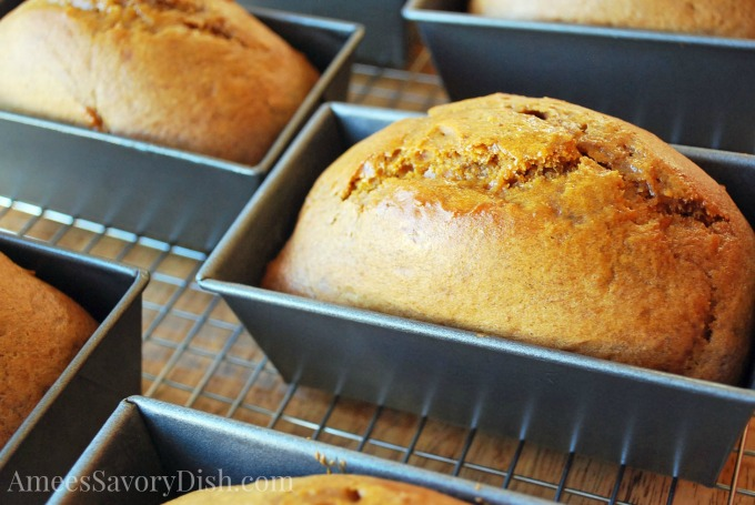 Healthier Pumpkin Spice Bread- Reinventing A Family Favorite