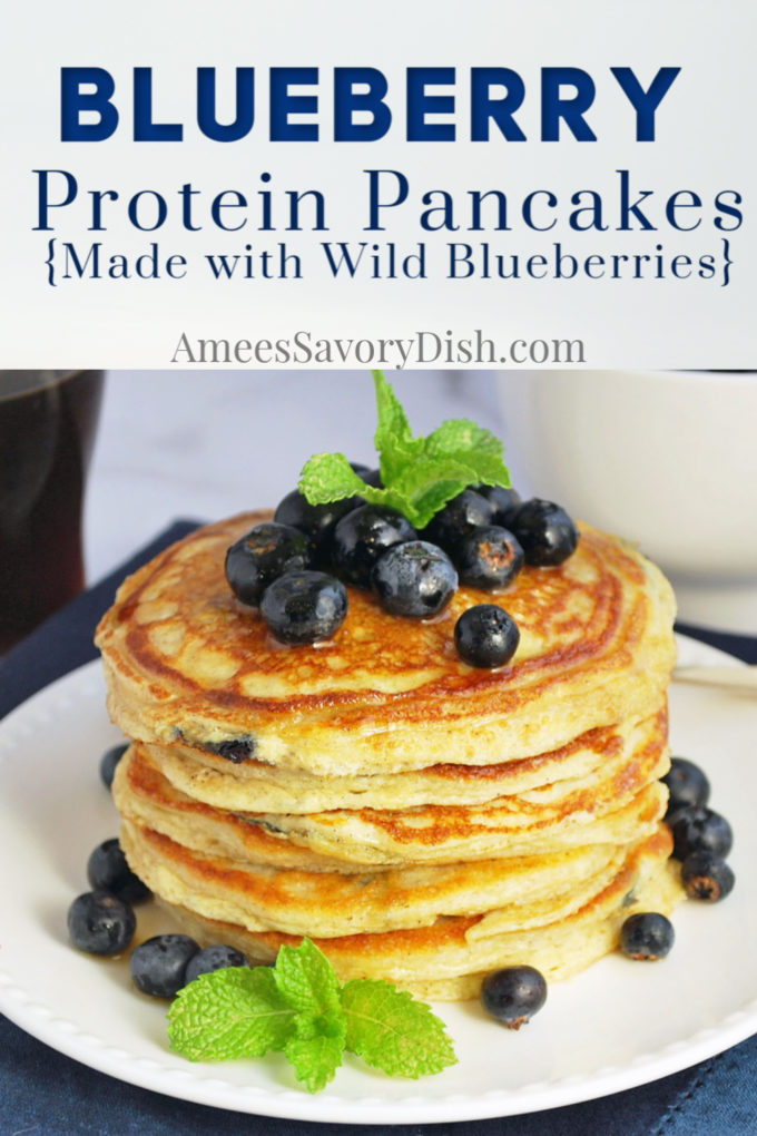 Wild Blueberry Protein Pancake recipe
