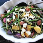 Feta Green Bean Fingerling Salad