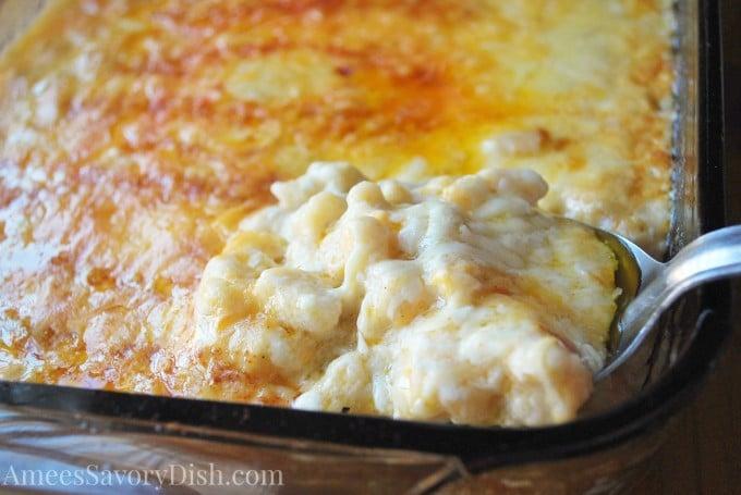 Gluten-Free Macaroni & Cheese Bake- Amee's Savory Dish