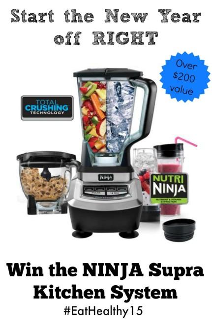 Ninja Giveaway #EatHealthy15