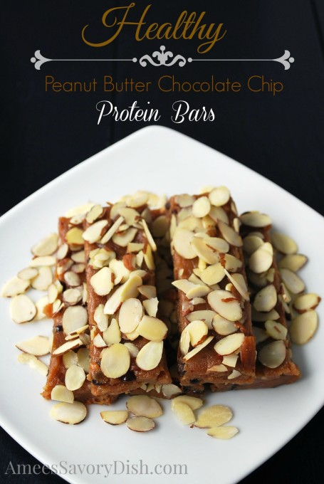 Peanut Butter Choc Chip Bars