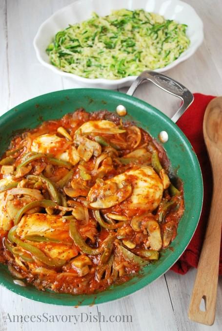 Sicilian Skillet Chicken Dinner | Amee's Savory Dish