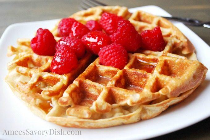 Best Belgian Protein Waffles