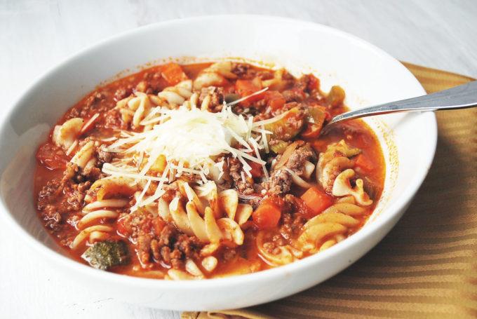 Easy Delicious Gluten Free Lasagna Soup Recipe Amee S