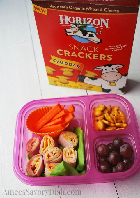 quick lunch and snack ideas with Horizon
