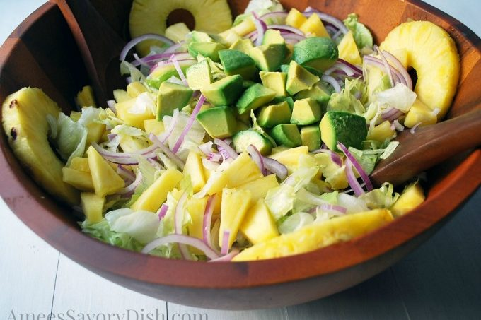 Avocado & Pineapple Salad